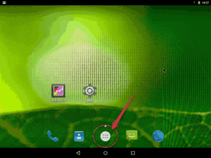 Android x86 home