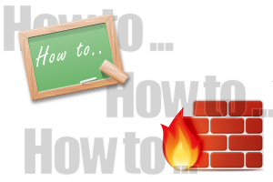 how to firewall