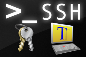 sftp teraterm key