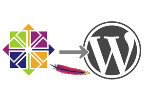 wordpress centos